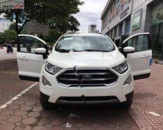 Bán xe Ford EcoSport Titanium 1.0 EcoBoost 2018, màu trắng, giá 660tr giá 660 triệu tại Hà Nội