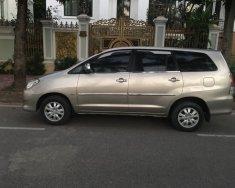 Tôi muốn bán xe TOYOTA INNOVA 2.0G màu ghi vàng, sx 2012, chính chủ gia đình từ đầu giá 435 triệu tại Hà Nội