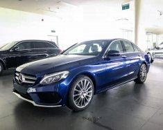 Bán Mercedes C300 AMG 2018 cũ, màu xanh sáng, 29Km, giao ngay giá 1 tỷ 995 tr tại Tp.HCM