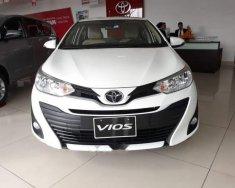 Cần bán xe Toyota Vios 1.5E CVT đời 2018, màu trắng, mới 100% giá 569 triệu tại Tp.HCM