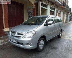Bán xe Toyota Innova 2.0 MT sản xuất 2008, màu bạc giá 239 triệu tại Nam Định