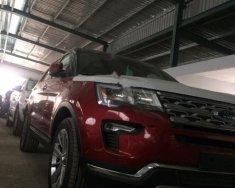 Bán xe Ford Explorer Limited 2.3L EcoBoost sản xuất năm 2018, màu đỏ, nhập khẩu giá 2 tỷ 193 tr tại Hà Nội