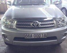 Bán xe Toyota Fortuner đời 2010, màu bạc, nhập khẩu nguyên chiếc giá 653 triệu tại Đồng Nai