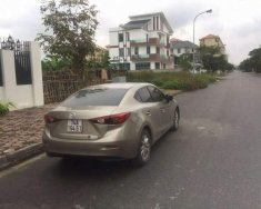 Chính chủ bán Mazda 3 đời 2016, màu vàng cát giá 605 triệu tại Hải Phòng