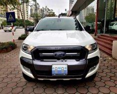 Cần bán xe Ford Ranger Wildtrack 3.2 4x4 AT đời 2015, màu trắng, nhập khẩu số tự động giá 725 triệu tại Hà Nội