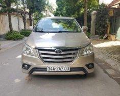Bán Toyota Innova 2.0E năm 2016, màu vàng cát giá 595 triệu tại Hà Nội