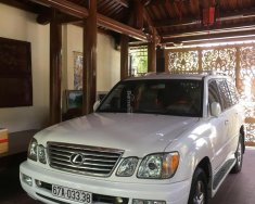 Bán Lexus LX 470 đời 2003, màu trắng, xe nhập giá 1 tỷ 300 tr tại Kon Tum