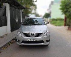 Bán Toyota Innova 2.0.G đời 2012 màu bạc, máy êm giá 455 triệu tại Tp.HCM