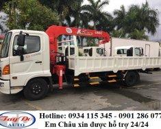 Thông số xe tải Hino FC 4.6 tấn + xe gắn cẩu + giá cạnh tranh+ hỗ trợ trả góp+ lãi suất hấp dẫn giá 1 tỷ 450 tr tại Tp.HCM