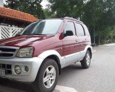 Cần bán lại xe Daihatsu Terios đời 2005, màu đỏ, tư nhân giá 200 triệu tại Hà Nội