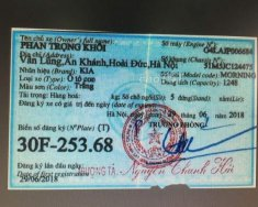 Cần bán Kia Morning MT sản xuất 2018, giá chỉ 380 triệu giá 380 triệu tại Hà Nội