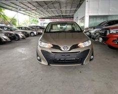 Bán ô tô Toyota Vios E CVT 2018, màu vàng cát giá 569 triệu tại Hà Nội