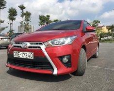 Bán Toyota Yaris 1.3G sx 2016, màu đỏ, xe nhập khảu cực đẹp giá 595 triệu tại Hà Nội