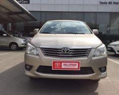 Chính chủ bán Toyota Innova 2013, màu vàng cát giá 548 triệu tại Hà Nội