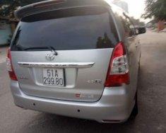 Cần bán Toyota Innova MT sản xuất 2012, màu bạc, xe đẹp giá 457 triệu tại Tp.HCM