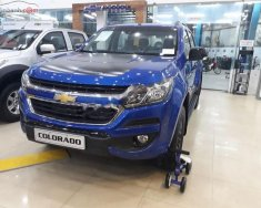 Bán xe Chevrolet Colorado Storm 2.5L 4x4 AT 2018, màu xanh lam, nhập khẩu giá 809 triệu tại Hà Nội