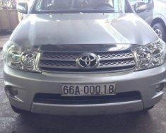 Bán Toyota Fortuner sản xuất năm 2010, màu bạc, nhập khẩu   giá 655 triệu tại Đồng Nai