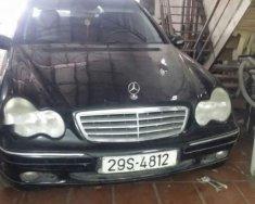 Bán Mercedes C200 sản xuất 2002, màu đen, 200tr giá 200 triệu tại Hà Nội