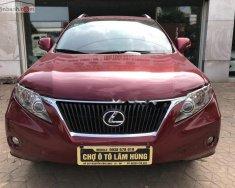 Cần bán lại xe Lexus RX 350 AWD 2011, màu đỏ, nhập khẩu nguyên chiếc còn mới giá 1 tỷ 720 tr tại Hải Phòng