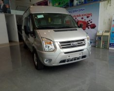 Cần bán Ford Transit đời 2018, màu bạc giá 872 triệu tại Bình Định