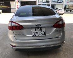 Bán Ford Fiesta Titamium sedan 1.5AT màu bạc, số tự động, sản xuất 2015, biển tỉnh đi đúng 63000km  giá 428 triệu tại Tp.HCM