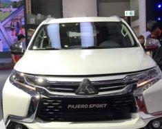 Bán xe Mitsubishi Pajero Sport 4x4AT STD năm 2018, màu trắng, nhập khẩu giá 1 tỷ 183 tr tại Tp.HCM