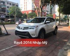 Bán Toyota RAV4 2014, màu trắng, nhập khẩu nguyên chiếc giá 1 tỷ 320 tr tại Hà Nội