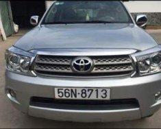 Cần bán lại xe Toyota Fortuner đời 2010, màu bạc, giá tốt giá 525 triệu tại Tp.HCM
