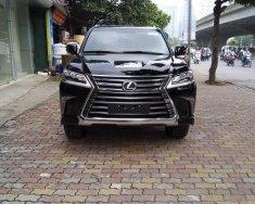 Cần bán xe Lexus LX 570 nhập khẩu chính hãng model năm 2018, màu đen giá 8 tỷ 400 tr tại Hà Nội