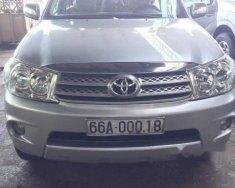 Bán xe Toyota Fortuner MT đời 2010, màu bạc, giá tốt giá 650 triệu tại Đồng Nai