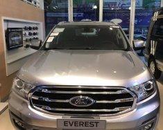 Bán Ford Everest Trend 2.0L 4x2 AT đời 2018, màu bạc, nhập khẩu giá 1 tỷ 112 tr tại Tp.HCM