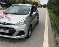 Bán Hyundai Grand i10 1.2 MT Base sản xuất 2016, màu bạc, nhập khẩu chính chủ giá 345 triệu tại Hà Nội