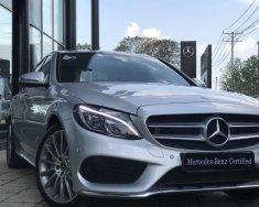 Bán Mercedes C300AMG năm sản xuất 2018, màu bạc, nhập khẩu nguyên chiếc giá 1 tỷ 868 tr tại Tp.HCM