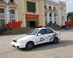 Bán Daewoo Lanos 1.5 MT đời 2001, màu trắng, nhập khẩu nguyên chiếc giá 69 triệu tại Hà Nam