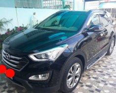 Bán ô tô Hyundai Santa Fe 2.4AT 4WD 7 chỗ sản xuất 2015, màu đen giá 908 triệu tại Tp.HCM