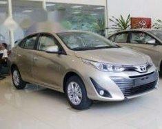 Cần bán Toyota Vios G CVT sản xuất 2018, màu vàng giá 606 triệu tại Hà Nội