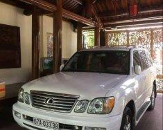 Bán Lexus LX 470 đời 2003, màu trắng, xe nhập nguyên chiếc từ Mỹ, nâng hạ gầm, DVD giá 1 tỷ 300 tr tại Kon Tum