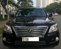 Bán xe Lexus LX 570 màu đen, nội thất da màu xám, model 2009, nhập Mỹ cuối 2010 giá 2 tỷ 450 tr tại Tp.HCM