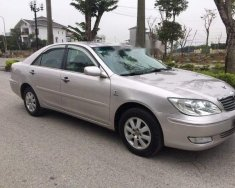 Bán gấp Toyota Camry 2.4G sản xuất 2002, màu bạc, số sàn giá 315 triệu tại Nghệ An