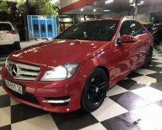 Bán xe Mercedes C300 AMG sản xuất 2012, màu đỏ giá 795 triệu tại Hà Nội