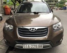 Bán Hyundai Santa Fe sản xuất 2012, màu nâu, xe nhập, 721tr giá 721 triệu tại Tp.HCM