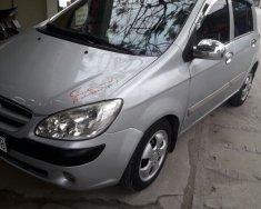 Bán ô tô Hyundai Getz năm sản xuất 2008, màu bạc, nhập khẩu giá 165 triệu tại Hải Phòng