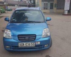 Bán Kia Morning sản xuất 2007, màu xanh lam, xe nhập số sàn, giá 144tr giá 144 triệu tại Hải Phòng