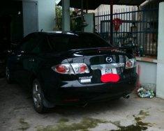 Cần bán gấp Mazda 6 2.0 MT đời 2003, màu đen như mới giá 220 triệu tại Đồng Nai