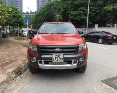 Cần bán xe Ford Ranger màu đỏ, bản 2 cầu, số tự động, sản xuất 2015 giá 625 triệu tại Hà Nội