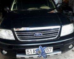 Gia đình bán xe Ford Escape XLT sản xuất 2004, màu đen, giá tốt giá 242 triệu tại Tp.HCM