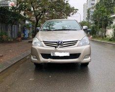 Gia đình cần bán Toyota Innova G 2012 số sàn, màu vàng cát giá 425 triệu tại Hà Nội