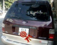Cần bán lại xe Toyota Zace GL sản xuất 2002, màu đỏ giá 227 triệu tại Bình Dương