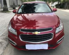 Cần bán lại xe Chevrolet Aveo LT đời 2017, màu đỏ giá 465 triệu tại Tp.HCM