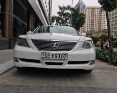 Bán xe Lexus LS 460L vin 2008, màu trắng, xe nhập giá 1 tỷ 180 tr tại Hà Nội
